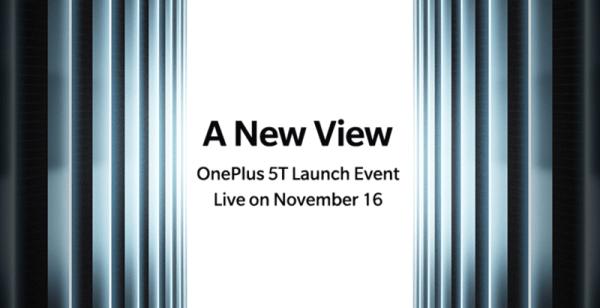 OnePlus 5T zostanie zaprezentowany 16 listopada 2017 r.