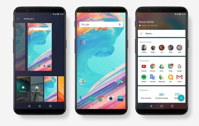Smartfon OnePlus 5T - design