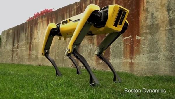 Nowy robotopies SpotMini jest gotowy na spacer…