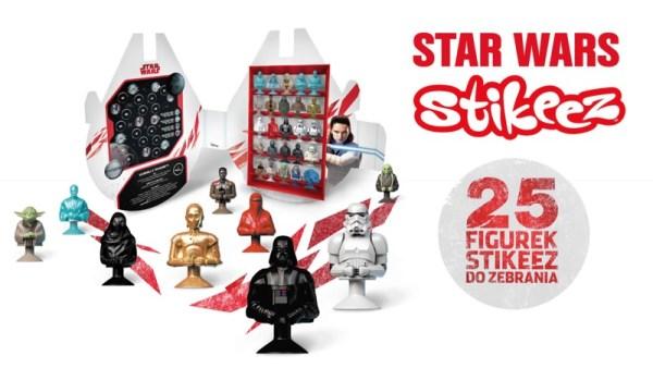 W Lidlu zbierzesz teraz figurki Stikeez Star Wars