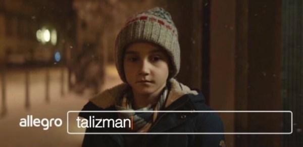 """Nowa reklama świąteczna Allegro pt. """"Talizman"""""""