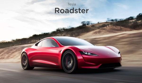 Tesla Roadster pojawi się w 2020 roku