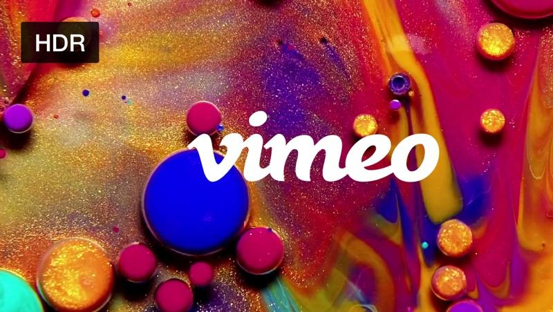 Vimeo wspiera HDR, 8K