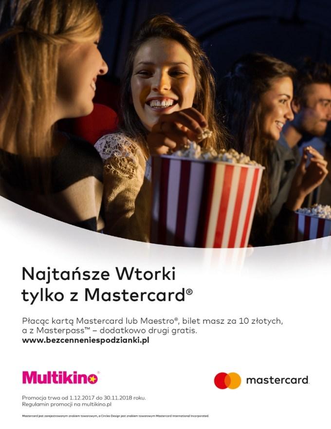 Wtorki z Mastercard w Multikinie