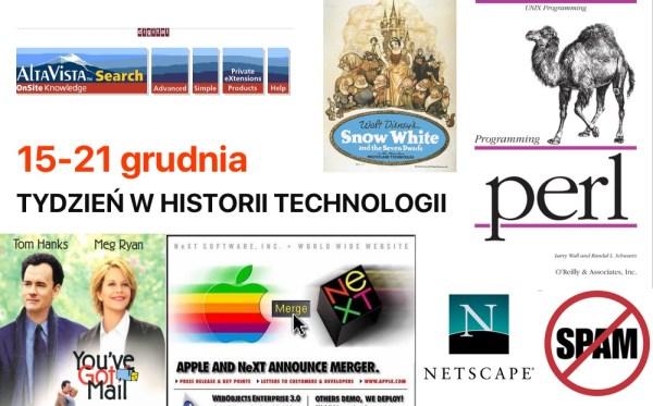 [15-21 grudnia] Tydzień w historii technologii