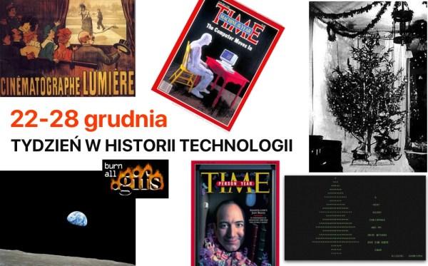 [22-28 grudnia] Tydzień w historii technologii