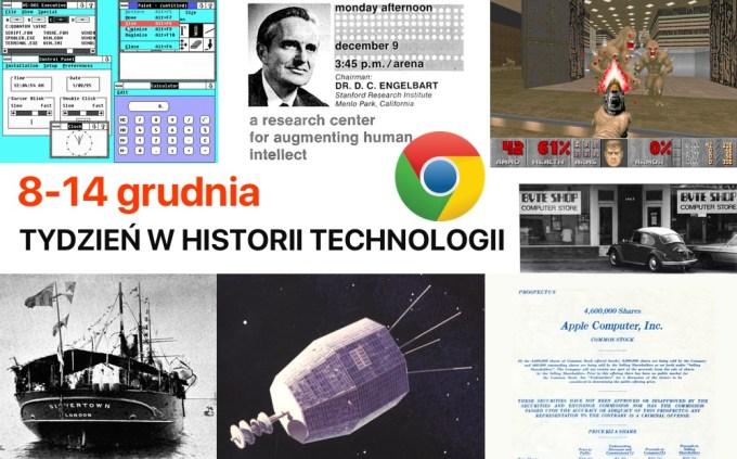 8-14 grudnia: Tydzień w historii technologii
