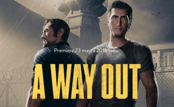 """Gra """"A Way Out"""" pojawi się już 23 marca 2018 r."""
