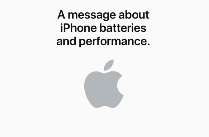 Apple przeprasza i oferuje zniżkę na wymianę baterii