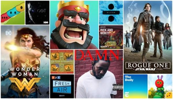 """""""Best of 2017"""" w sklepie App Store (aplikacje, gry mobilne i inne)"""