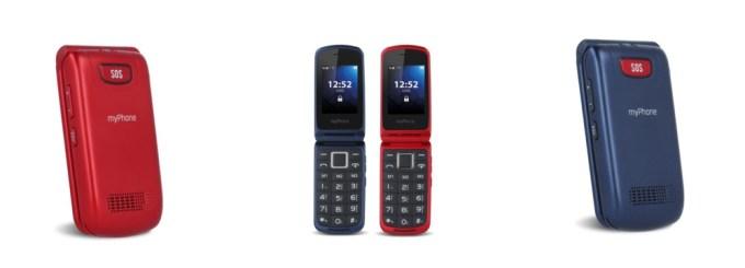 myPhone Flip 3 (telefon z klapką)
