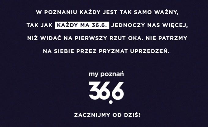 """Manifest akcji """"My Poznań 36.6"""""""