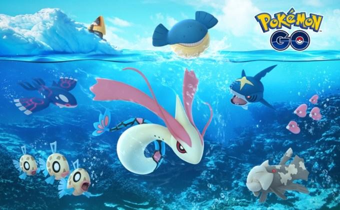Pokemon GO - specjalne pokemony - święta 2017