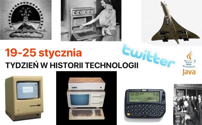 19-25 stycznia - Tydzień w historii technologii