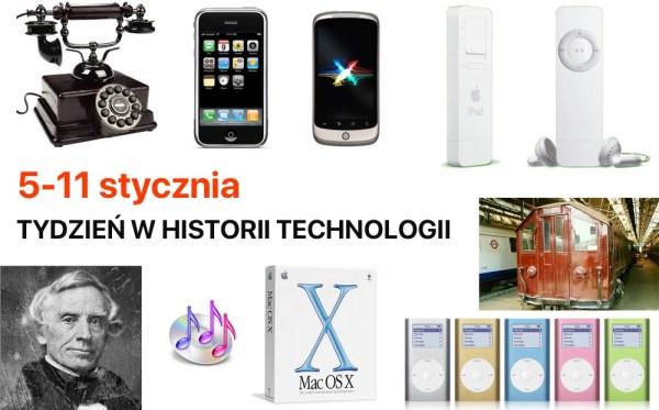 [5-11 stycznia] Tydzień w historii technologii