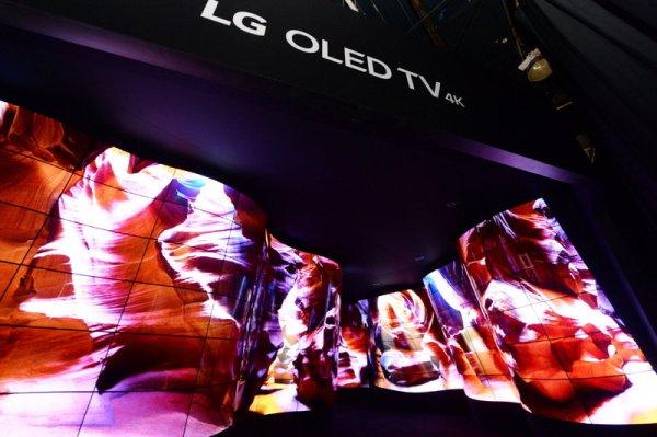 LG OLED Kanion wita gości na CES 2018