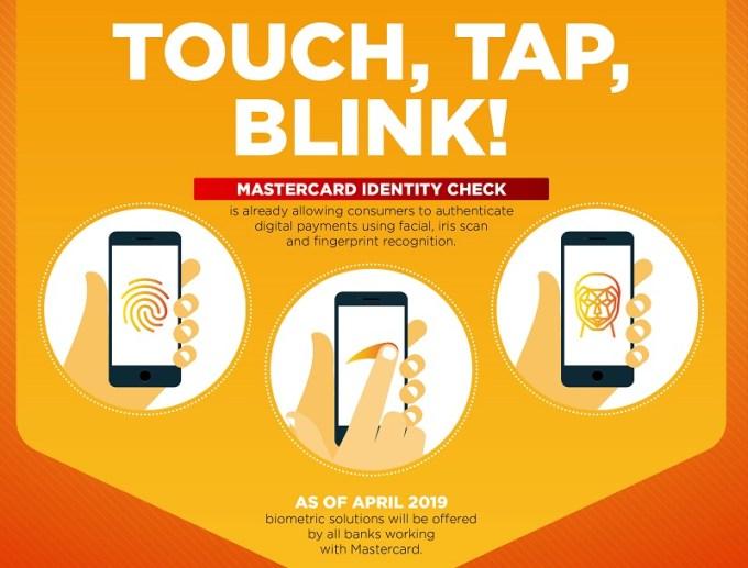 Touch, Tap, Blink! - Mastercard biometria