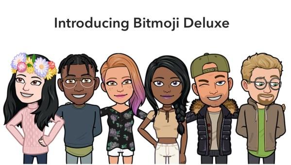 Nowe Bitmoji Deluxe na Snapchata z setkami opcji