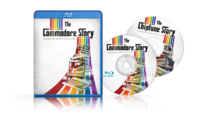 """""""The Commodore Story - Changing the world 8-bits at the time"""" - płyty DVD i Blue-ray"""