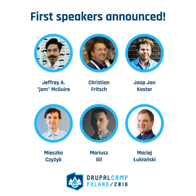 Prelegenci DrupalCamp Poland 2018