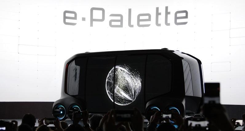 e-Palette CES 2018