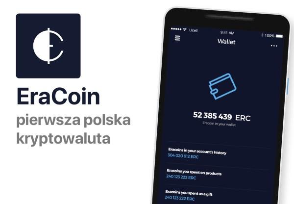 EraCoin płaci użytkownikom appki za kopanie kryptowaluty