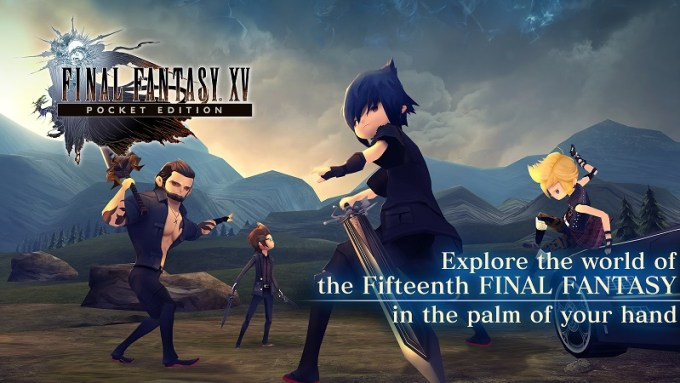 """Final Fantasy XV: Pocket Edition"" - gra mobilna screen"