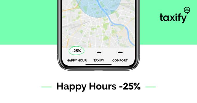 Happy Hours w aplikacji Taxify