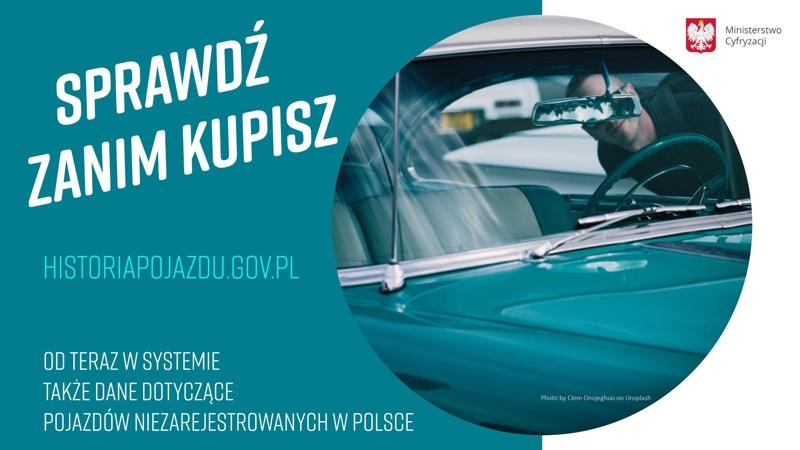 Historia Pojazdu - baza online