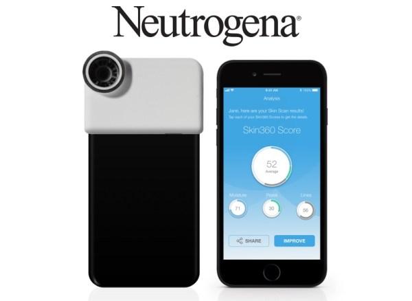 Neutrogena SkinScanner sprawdzi stan skóry twarzy