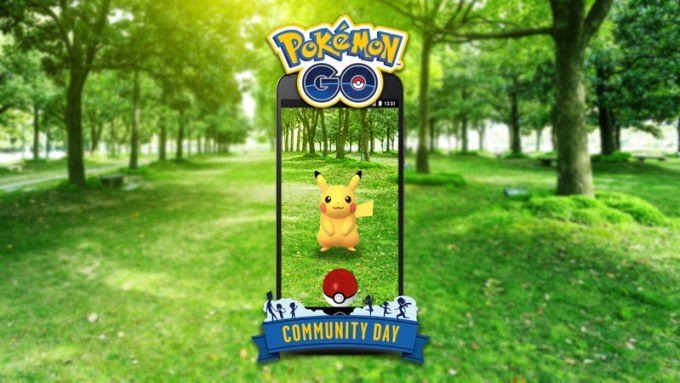 Community Day w grze mobilnej Pokemon GO