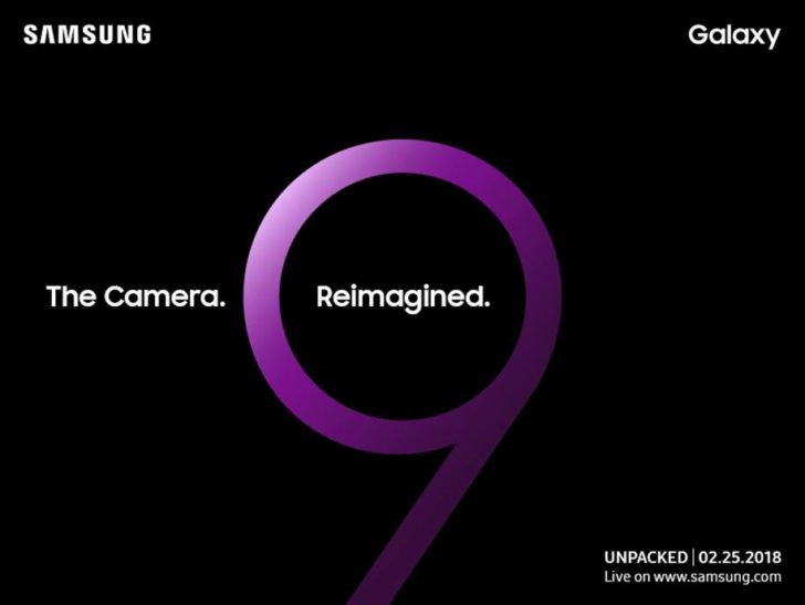Samsung Galaxy S9 - UNPACKED 2018