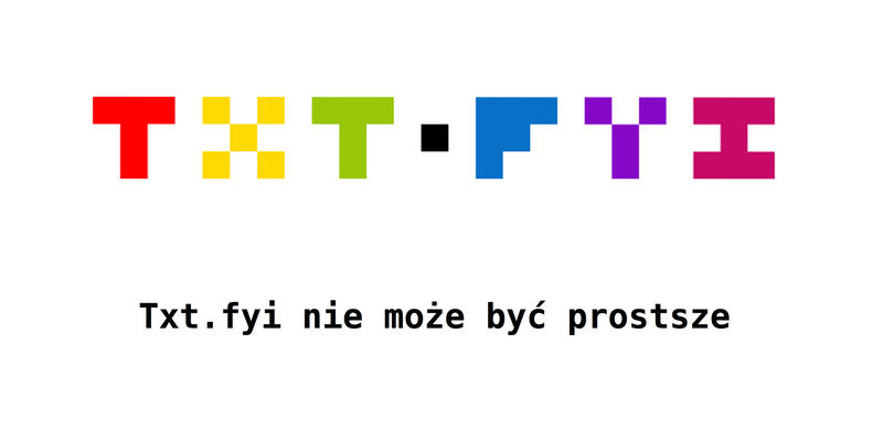 Txt.fyi - logo