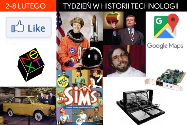 [2-8 lutego] Tydzień w historii technologii