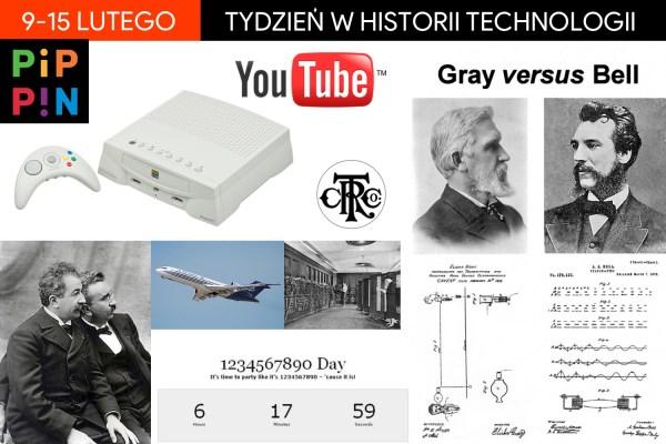 [9-15 lutego] Tydzień w historii technologii