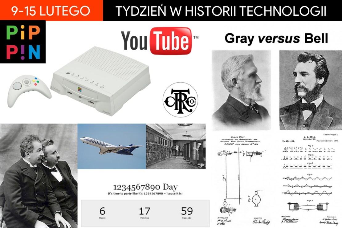9-15 lutego: Tydzień w historii technologii