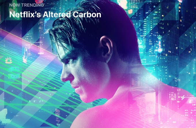 Altered Carbon by Netflix (screen App Store)