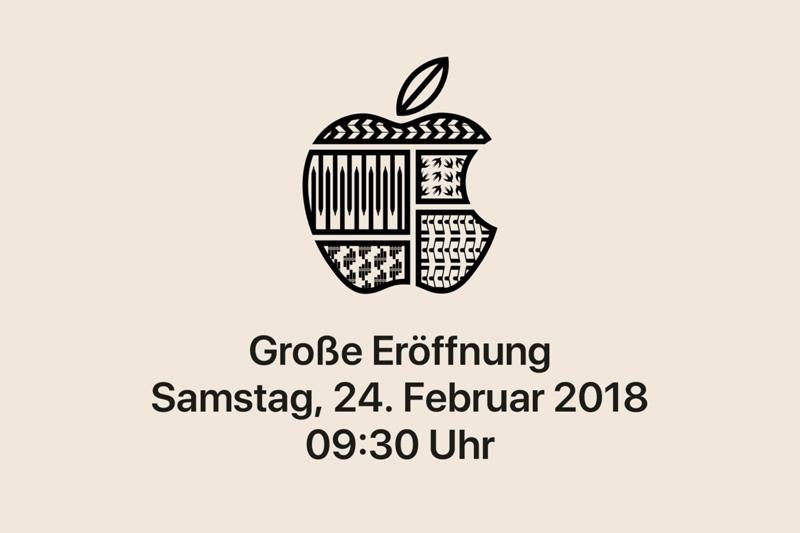 Apple Store w Wiedniu (luty 2018)