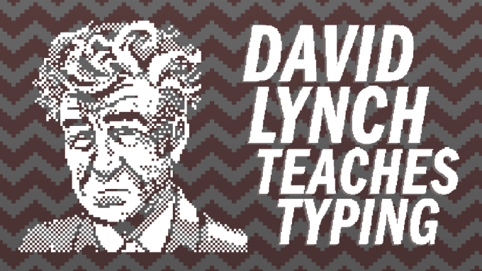 "Gra: ""David Lynch Teaches Typing"""