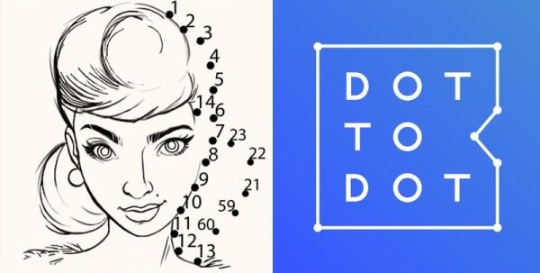 Dot 2 Dot – połącz obrazki składające się z 1000 kropek