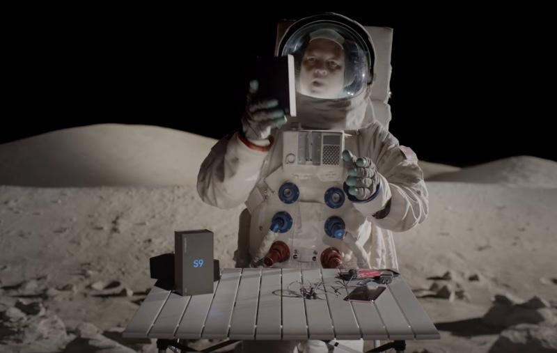 T-Mobile rozpakowuje Galaxy S9 na Księżycu
