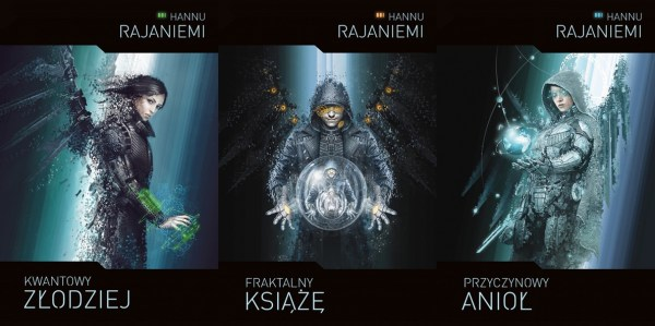 Trzy powieści Hannu Rajaniemi 23 marca w nowym wydaniu