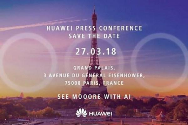 W marcu być może zobaczymy Huawei P20 z 3 obiektywami