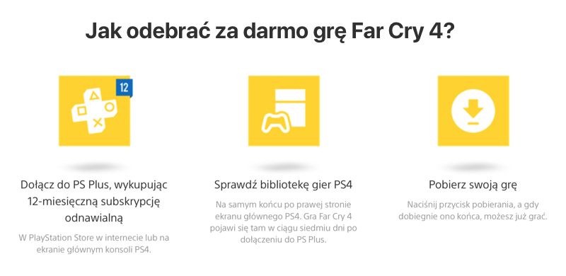 """Jak odebrać za darmo grę """"Far Cry 4"""" w PS Plus?"""