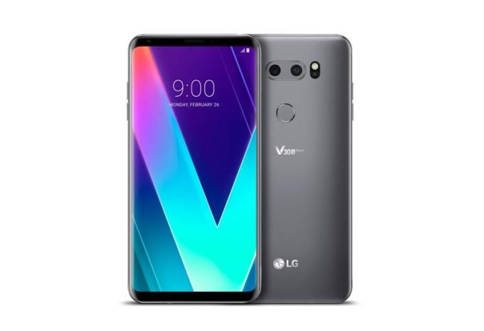 LG V30S ThinQ (platynowa szarość)