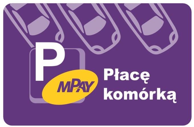 mPay - wzór naklejki na auto