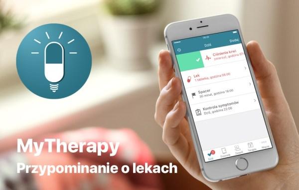 MyTherapy to aplikacja, która przypomni Ci o wzięciu leków