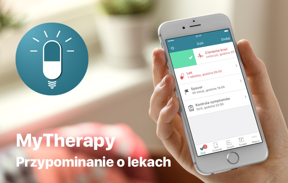 MyTherapy - przypominanie o lekach (aplikacja mobilna)