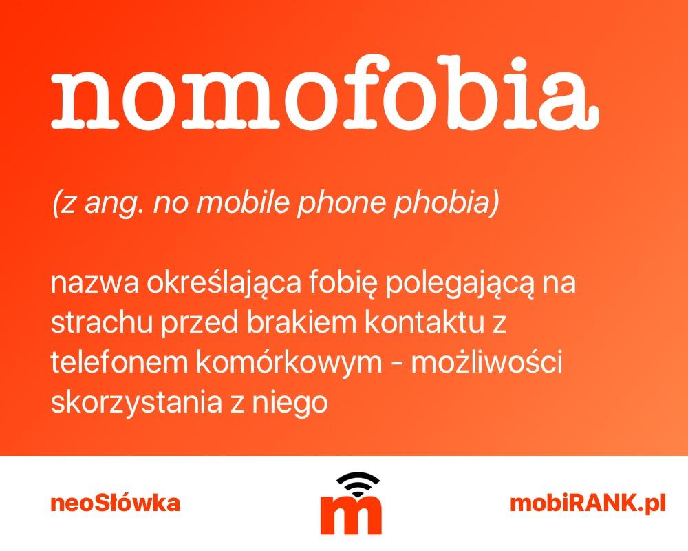 noeSłówka: nomofobia