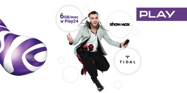 Internet, Showmax i Tidal w prezencie od Play!
